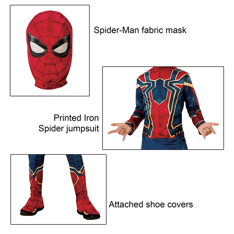 Rubies Marvel Avengers: Endgame Childs Iron Spider Costume & Mask, Medium