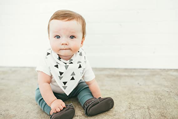 Baby Boys Copper Pearl 4-Pack Bandana Bibs Accessories Shade Set X000TTXZZP