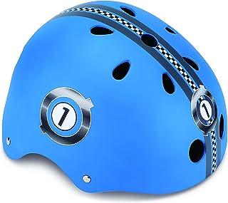 Globber PKGB0000500-001 Casque de Protection Garçon, Bleu, Taille : XS (51-54 cm) GLOOF #Globber