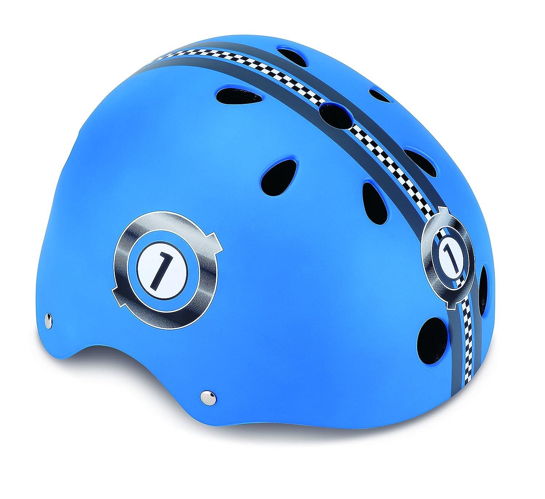 Globber PKGB0000500-001 Casque de Protection Garçon, Bleu, Taille : XS (51-54 cm) GLOOF|#Globber