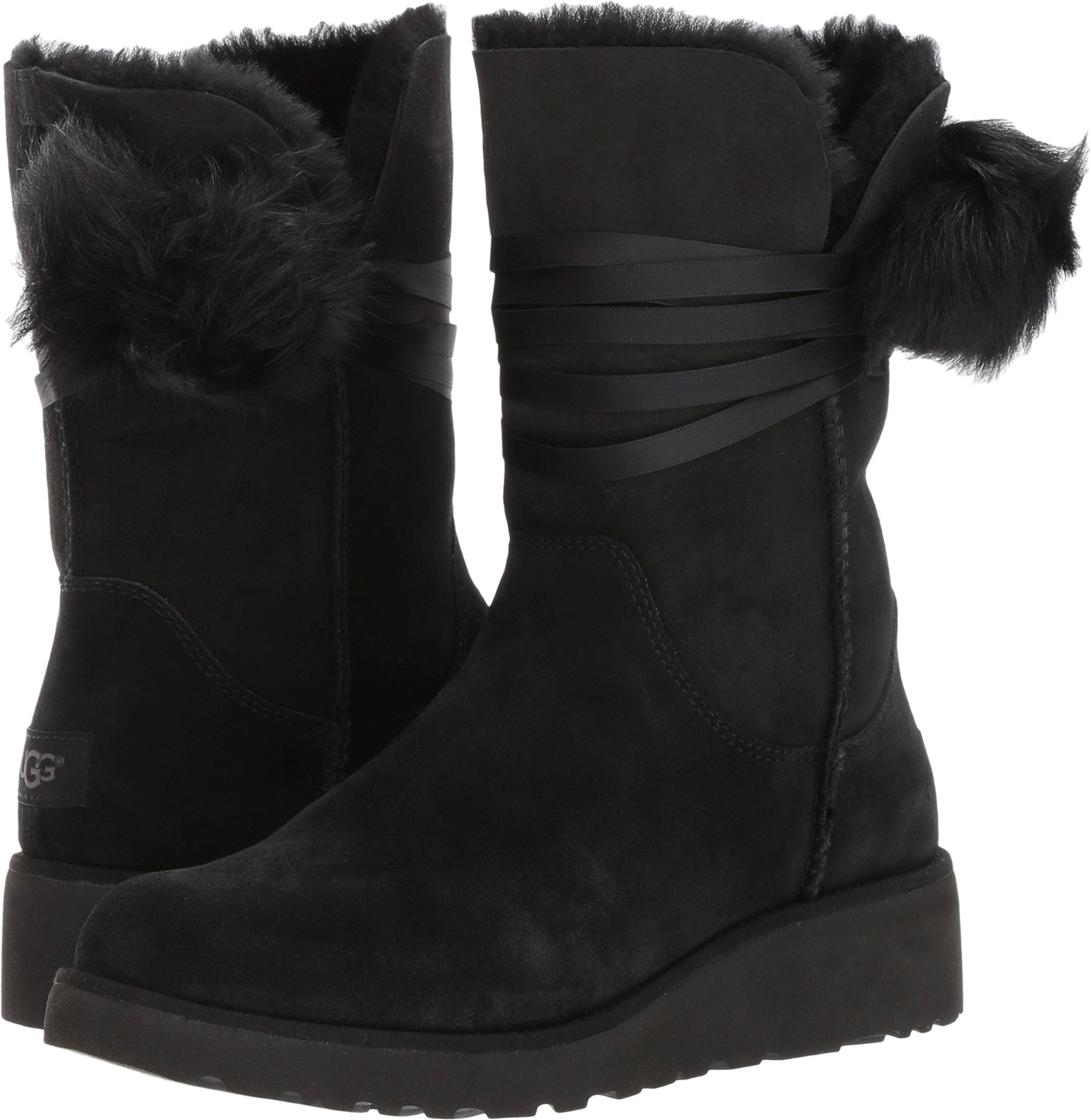 Women's Ugg, Brita Boots BLACK 12 M by UGG