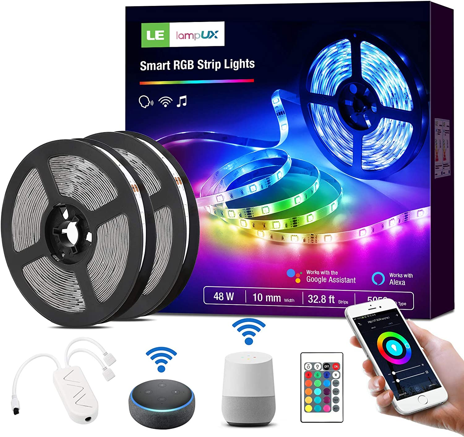 Details about  /USB LED Strip 5050 RGB Mood Light TV Backlight Multi Color with Remote Control