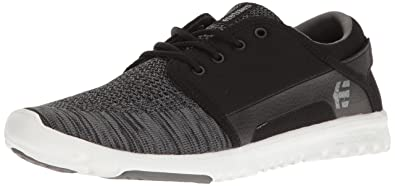 Etnies Men's Scout YB Skate Shoe, Black/Grey, 6 Medium US