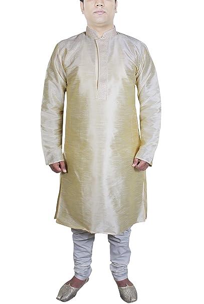 Ropa para Hombre Kurta Pijama Ropa Activa la Boda Indio para los Hombres
