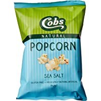 Cobs Natural Sea Salt Popcorn, 30 x 20 Grams