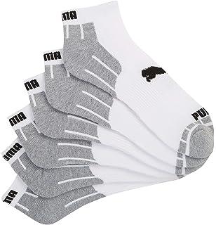Amazon.com   Puma Trainer Socks 3 Pair Pack Mens Socks (10-12 US ... c7ffece5f