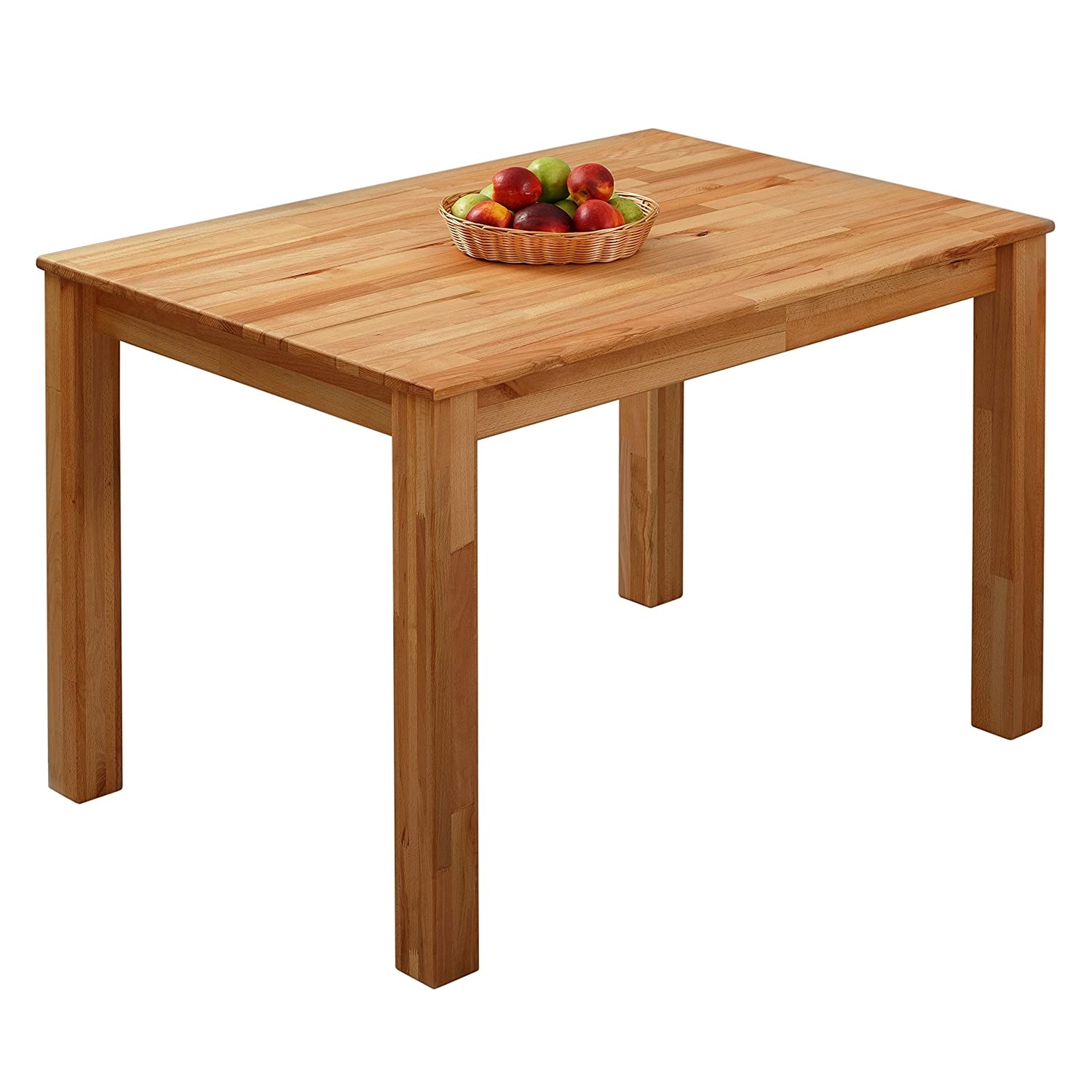 Dining Table Beech 100% FSC Bonn 75x75x75cm Krok Wood Ltd.