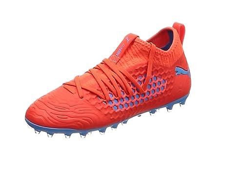 3308e57b3 Puma Unisex Kids' Future 19.3 Netfit Mg Jr Football Shoes: Amazon.co ...
