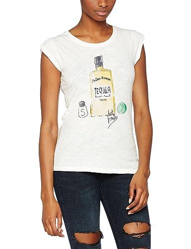 Only Onlchloe S/S Prairie Print Top Box Ess, T-Shirt Donna