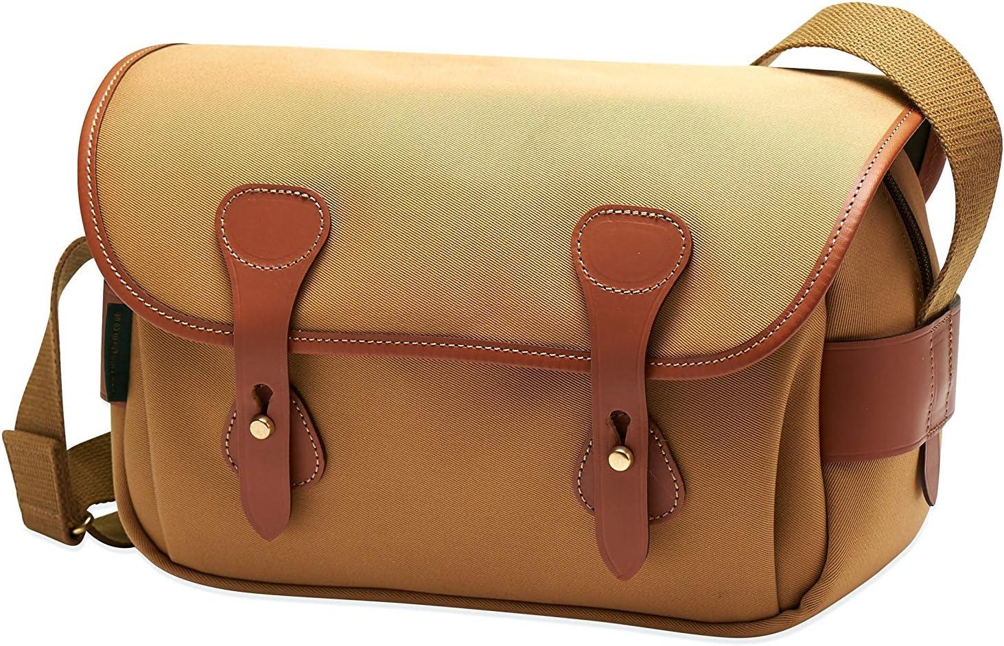 More Black Canvas//Tan Leather - Card Wallet Lens Keeper Billingham S3 Shoulder Bag Reader