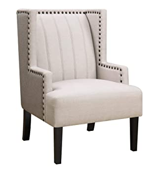 Terrific Amazon Com Coaster Home Furnishings Wing Accent Chair With Gmtry Best Dining Table And Chair Ideas Images Gmtryco