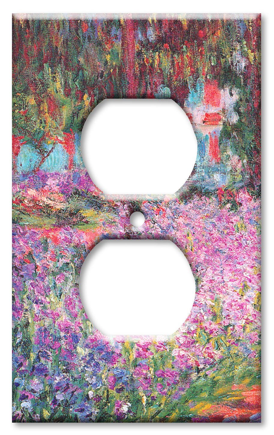 Art Plates - Monet: The Artist's Garden Switch Plate - Outlet Cover