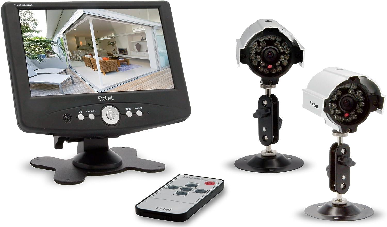 Extel 9 O FIL Überwachungskamera-Set, kabelgebunden: Amazon