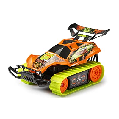 Thrilling and Awesome New Bright RC Dune Tracker Radio Control Stunt Buggy - Orange,Perfect for Hours of Entertainment and is Fun on All Kinds of Terrain,Awesome Gift Idea: Toys & Games