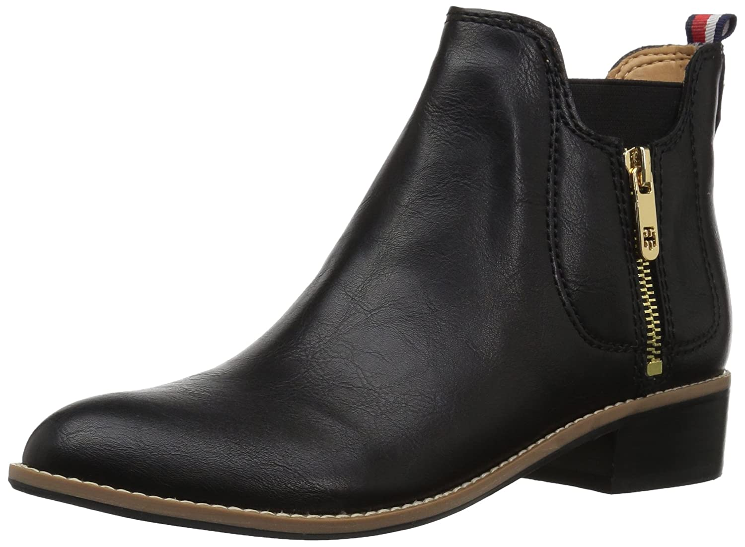 Tommy Hilfiger Women's Toscana Ankle Boot B06XVGWRJB 12 B(M) US|Black