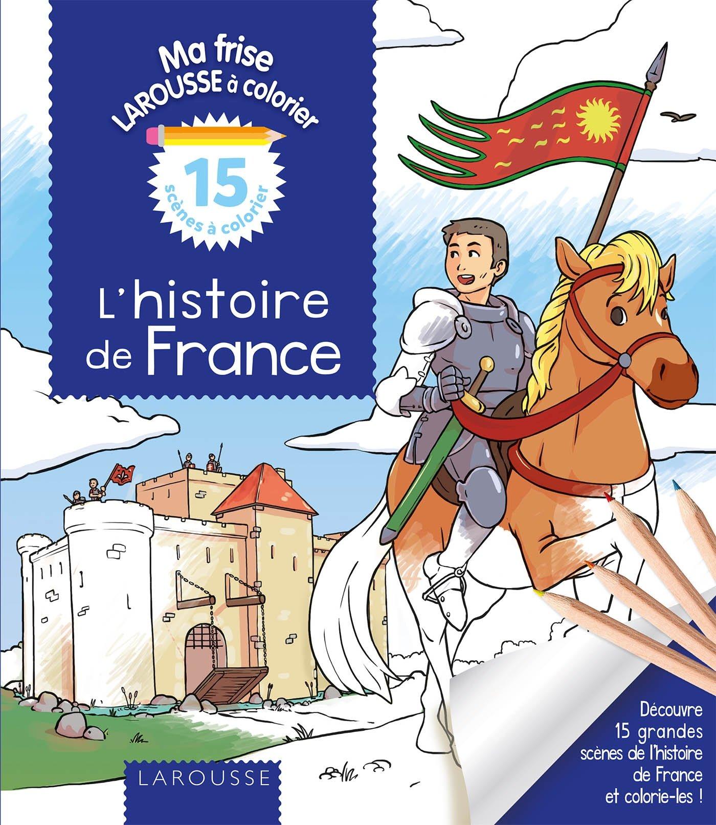 Lhistoire De France à Colorier Amazonfr Elisabeth De