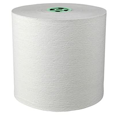 Scott Pro (formerly Kleenex) Hard Roll Paper Towels (25630) with Premium Absorbency Pockets, for MOD Dispenser (Green-Colored Core), 700' / Roll, 6 White Rolls / Case, 4, 200 feet - Same Kleenex quality, now Scott branded: Pa