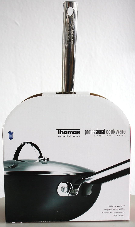 Thomas - Wok (28 cm): Amazon.es: Hogar