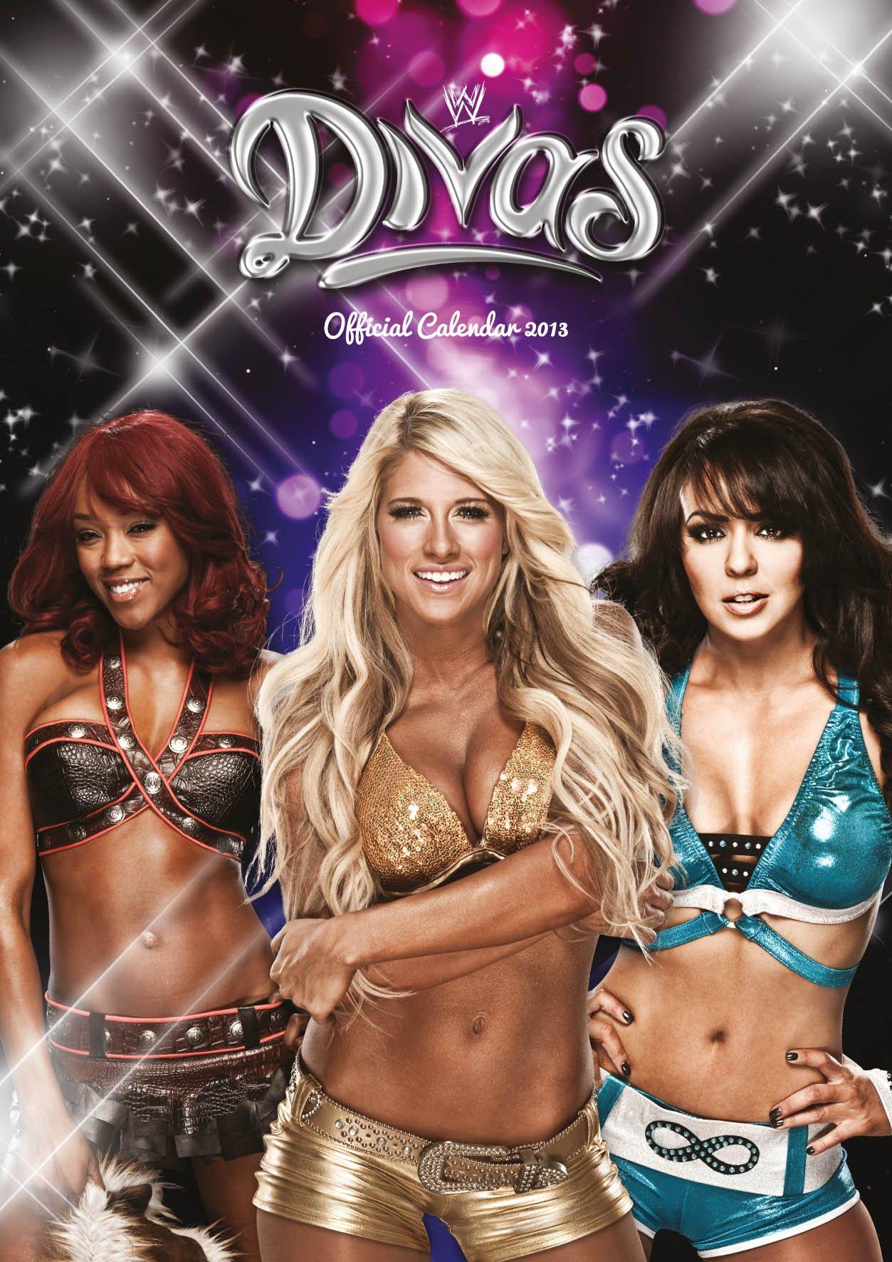 Official World Wrestling Divas Calendar 2013