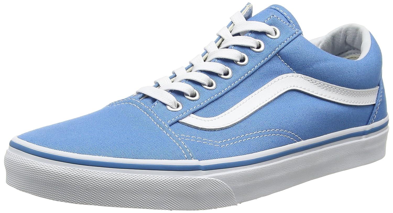 Vans Unisex Old Skool Classic Skate Shoes B01I24MTOK 10 M US Women / 8.5 M US Men|Cendre Blue/True White