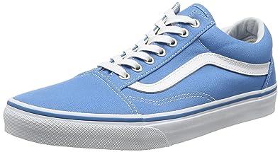 Vans Unisex-Erwachsene Ua Old Skool Sneakers, blau