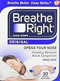 Breathe Right Nasal Strips, Small /Medium-30 ct. by Breathe Right