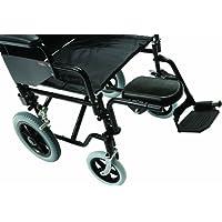 Drive Medical Z10960-01 - Soporte de pierna izquierda para silla de ruedas (acero)