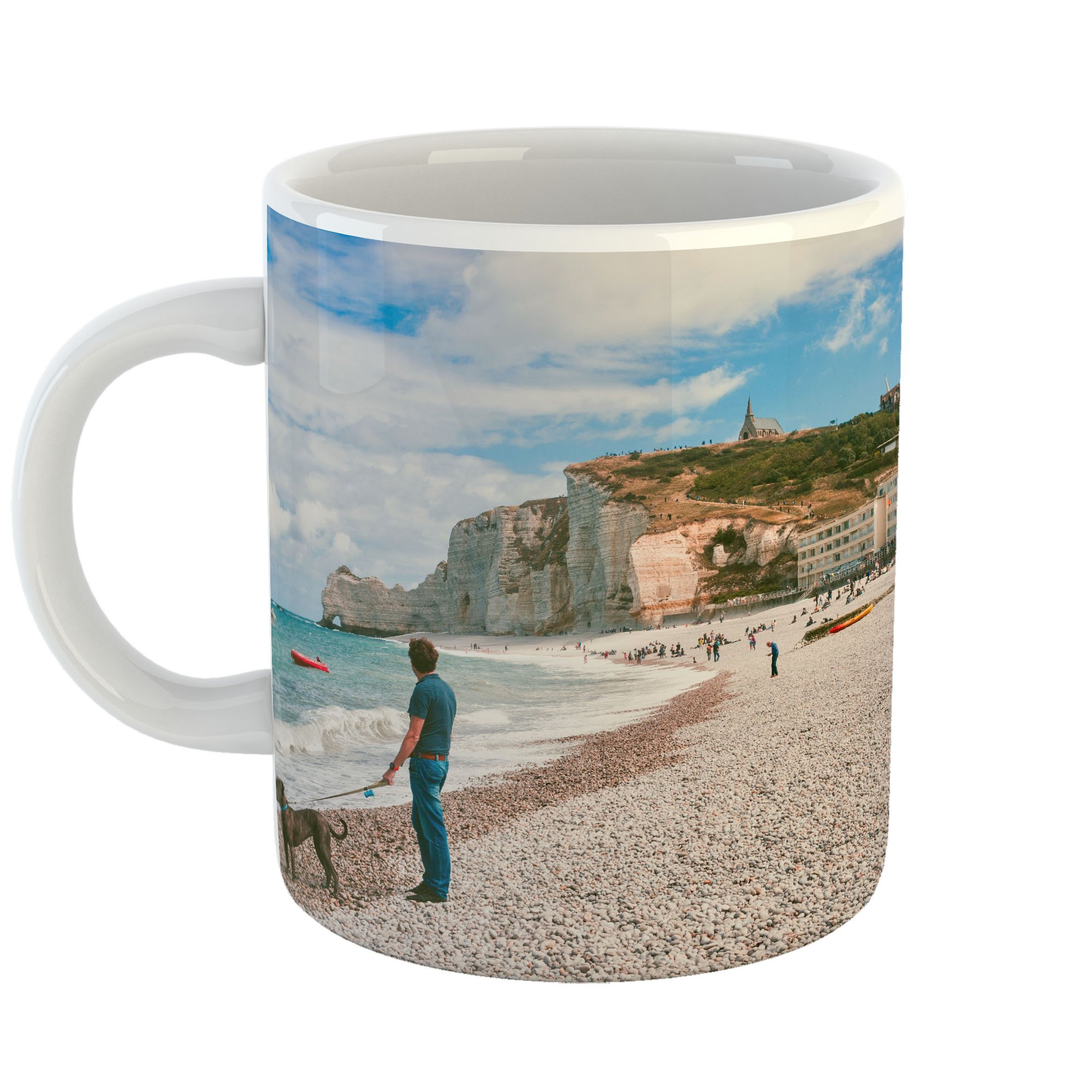 Westlake Art - Swimming Hotel - 11oz Coffee Cup Mug - Modern Picture Photography Artwork Home Office Birthday Gift - 11 Ounce (3BC9-BEE60)