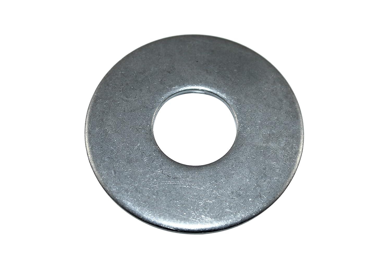 SN-TEC Gro/ße Edelstahl Unterlegscheiben V2A M6 6,4mm innen 18mm aussen 25 St/ück