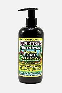 Dr. Earth Organic & Natural Pump & Grow Succulence Cactus & Succulent Plant Food 16 oz, Yellow