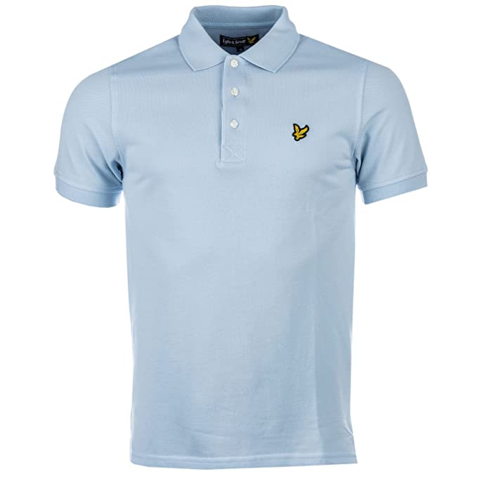 c02b1cd4 Lyle & Scott Men's Pique Short Sleeve Polo Shirt: Lyle And Scott ...
