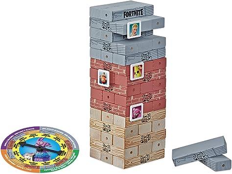Jenga Fortnite - Juego de Mesa de Madera - Juego de dirección - Versión Francesa: Amazon.es: Juguetes y juegos