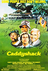 "Kopoo Caddyshack 1980 Movie Art Print Poster (Signature), 24"" x 36"" (60 x 91.5 cm)"