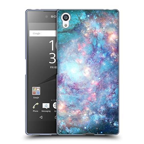 Head Case Designs Offizielle Barruf Abstrakter Raum 2 Galaxie Soft Gel Hülle für Sony Xperia Z5 Premium/Dual