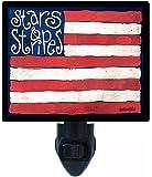Patriotic Night Light - Stars and Stripes Flag