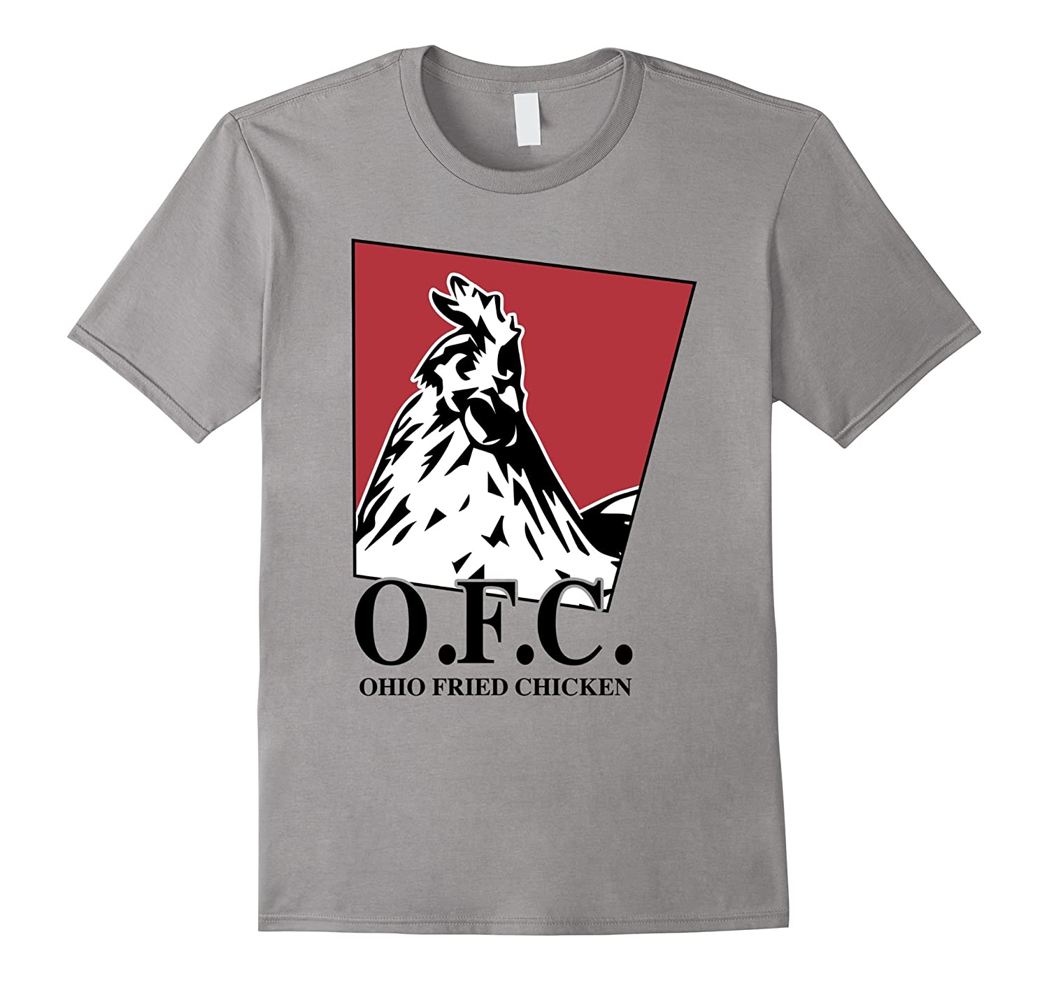 Ohio fried chicken T-shirt, crispy & golden deep fried Tee-ANZ