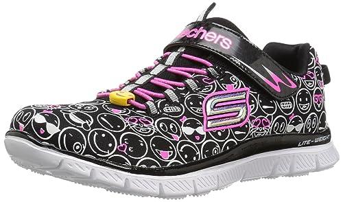 Skechers bambino SKECH APPEAL sneakers nero scarpe bambina memory foam  81809L