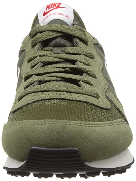 the best attitude 916f3 18e04 Nike Internationalist Leather - Cargo Khaki Sail-Medium Olive, 11 D US   Amazon.ca  Shoes   Handbags