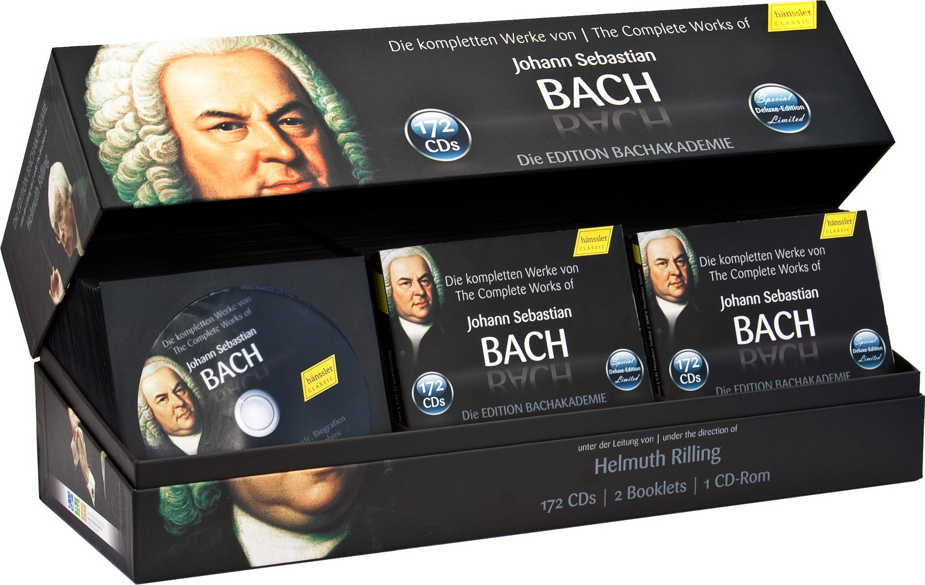 The Complete Works of Johann Sebastian Bach - Bachakademie 10th Anniversary Special Collection
