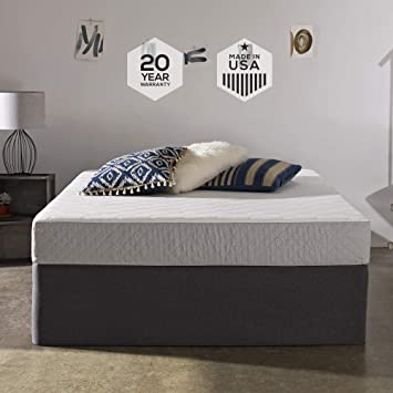 Amazon Com Sleep Innovations Sage 8 Inch Cooling Gel Memory Foam