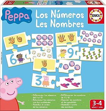 Oferta amazon: Educa - Aprendo Los Números Peppa Pig, juego educativo para niños, a partir de 3 años (16224)