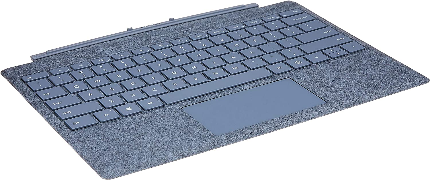 Microsoft Surface Pro Signature Type Cover Ice Blue Computer Zubehör
