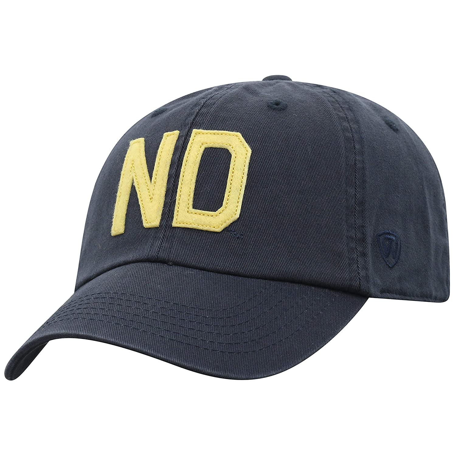 Top of the World NCAA-Cotton Crew-District-Big Letters-Adjustable Strapback-Hat Cap