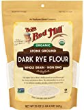 Bob's Red Mill Organic Dark Rye Flour, 20 Ounce (Pack of 1)