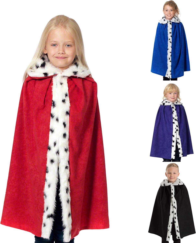 Childs Deluxe King Cloak - Red (disfraz): Amazon.es: Juguetes y juegos