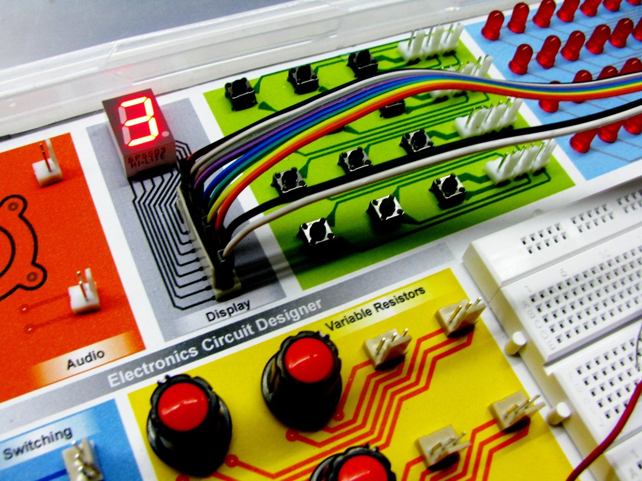 Electronics Project Kit 60 In 1 Circuits Electronically Designed Dice Game Circuit By Lm555