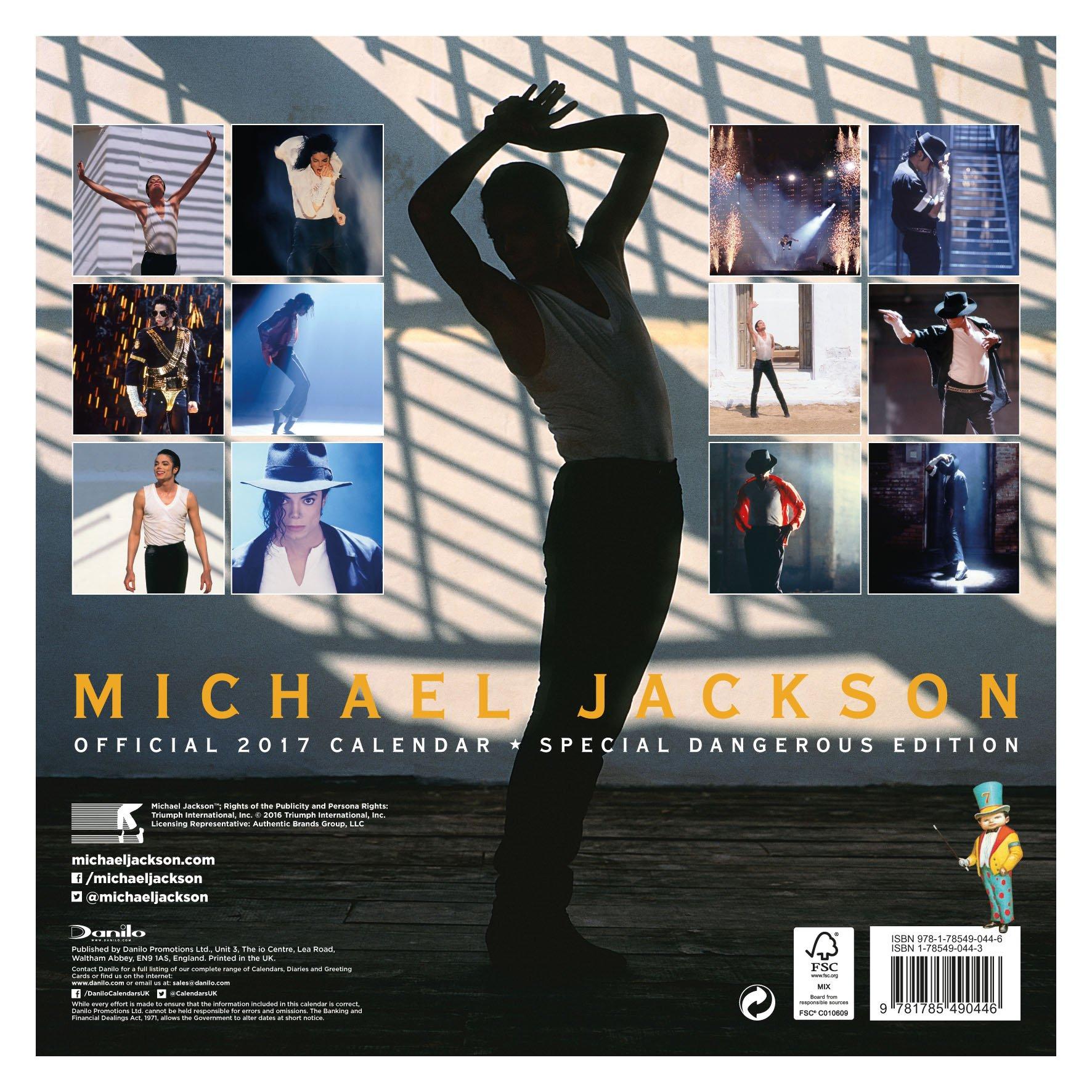 Calendrier  Michael Jackson ................ 81HQC1L%2B2BL