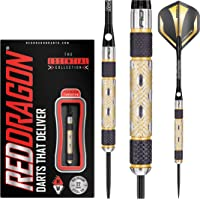Red Dragon Golden Eyes 22g, 24g, 26g, 28g, 30g or 32g Tungsten Darts Set with Flights and Stems