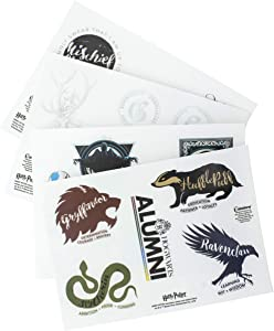 Harry Potter Gadget Decals - Reusable Vinyl Sticker Clings - 4 Sheets