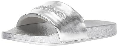 4a7985e23206 Amazon.com  bebe Women s Felizia Slide Sandal  Shoes